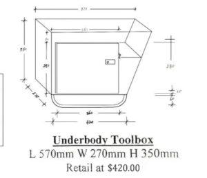 Underbody Toolbox